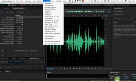 Tutorial: Mike's Podcast Workflow in Adobe Audition